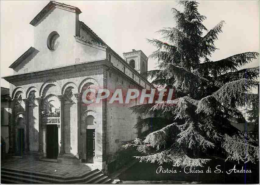 Moderne Karte Pistoia Chiesa di S Andrea 0