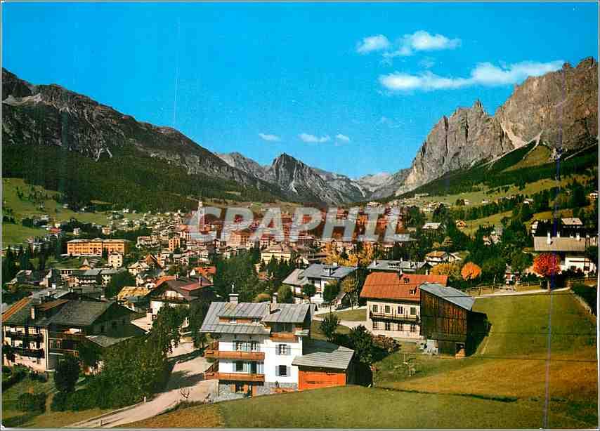 Moderne Karte Dolomiti Cortina d Ampezzo 0