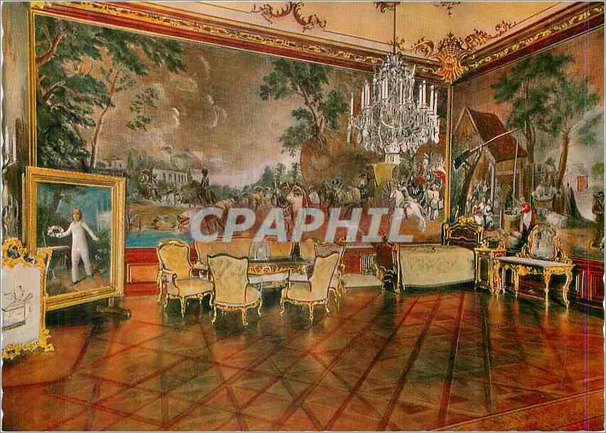 Moderne Karte Schloss Schronbrunn Wien Chambre de Napoleon 0
