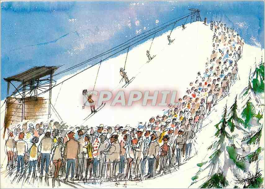 Moderne Karte Ski 0