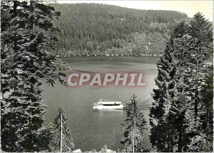 Moderne Karte Gerardmer Echappee sur le Lac Bateau 0