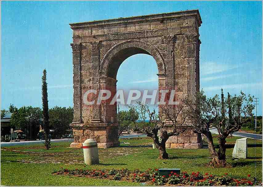 Moderne Karte Tarragona Costa Dorada L'Arc de Bara 0