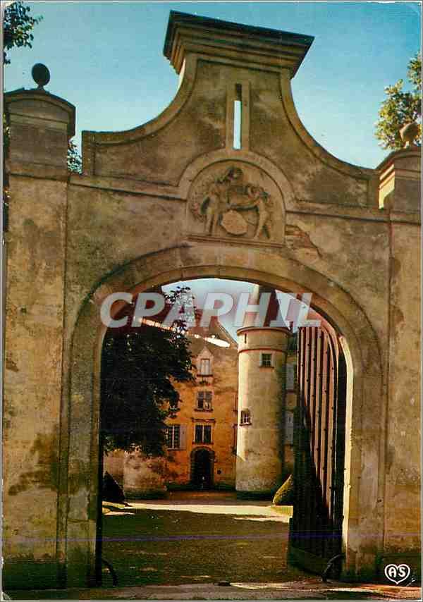 Moderne Karte Chanonat (Puy de Dome) Chateau de Varvasse 0