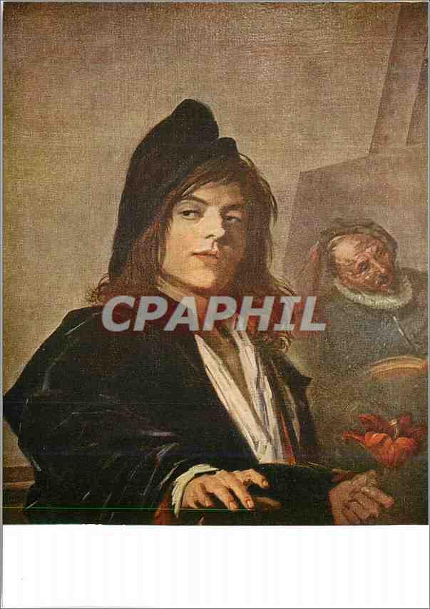 Moderne Karte Musee du Louvre (Ecole Hollandaise) Franz Hals Portrait d'un Jeune Peintre dit Le Peintre Ambula 0