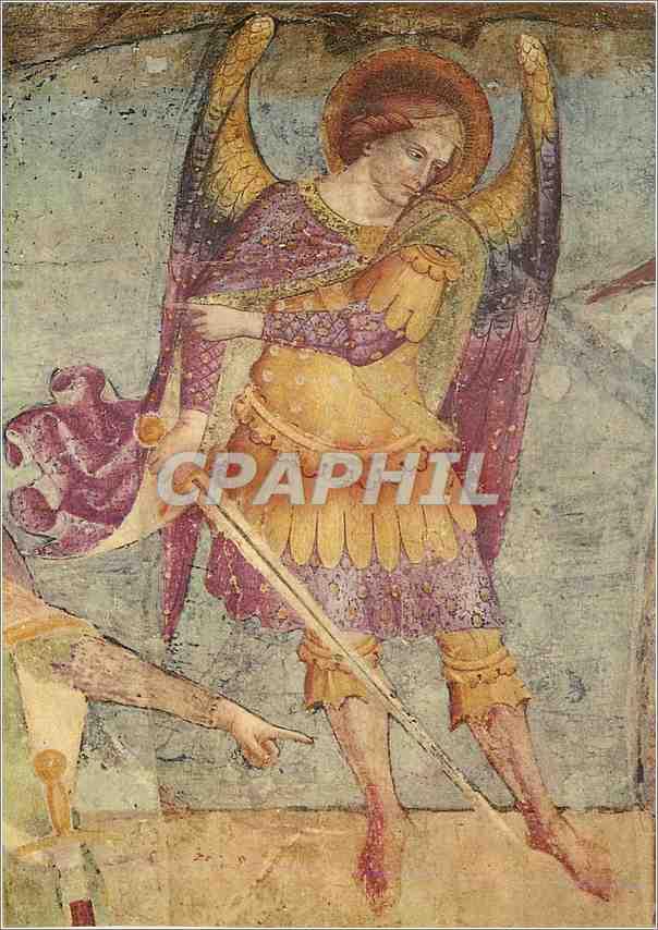 Moderne Karte Pisa Camposanto Monumentale Maestro del Trionjo Della Morte Giudizio Universale 0