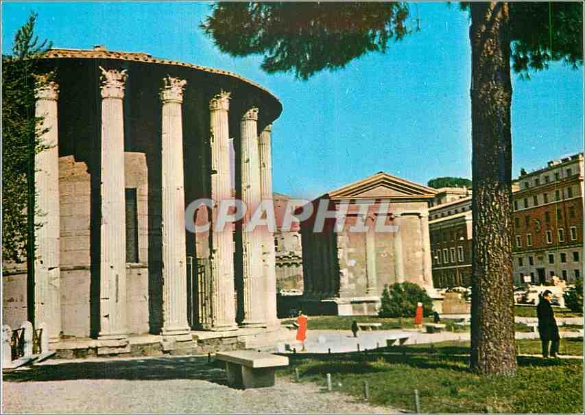 Moderne Karte Roma Temple de Vesto 0