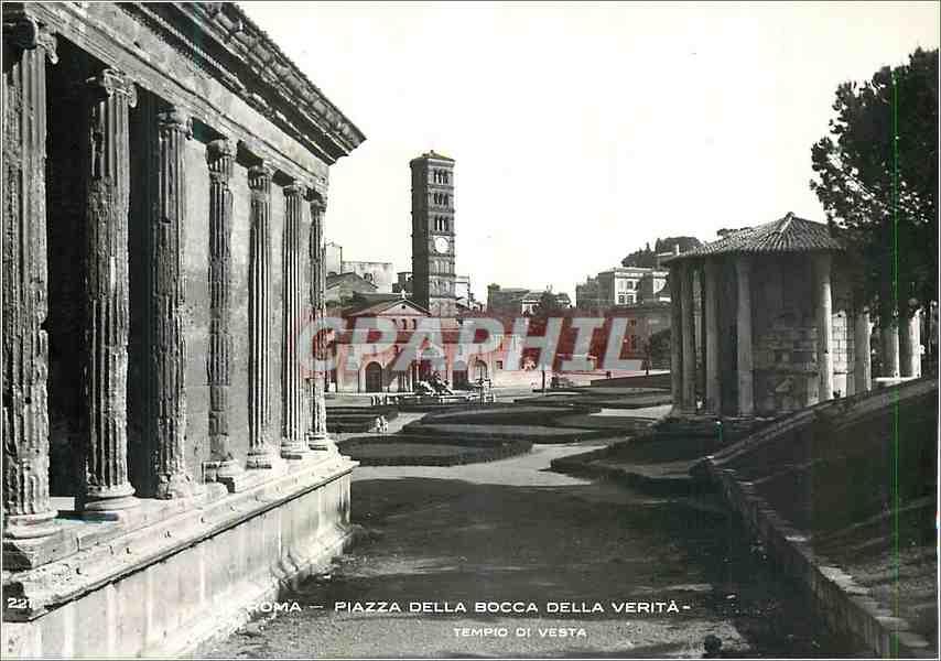 Moderne Karte Roma Plazza Della Bocca Della Verita 0