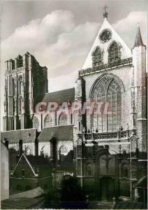Moderne Karte Antwerpen St Jacobskerk Brabo Reeks