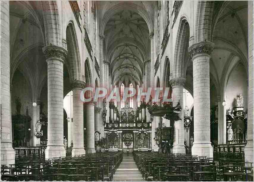 Moderne Karte Antwerpen St Jacobskerk Brabo Reeks 0