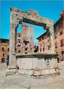 Moderne Karte Citta Di S Gimignano (Siena) Cisterna Square