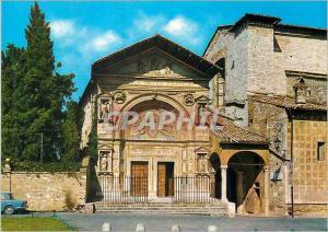 Moderne Karte Perugia Oratoire de St Bernardino