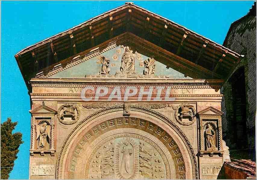 Moderne Karte Perugia Oratoire St Bernardino Facade Superieure 0