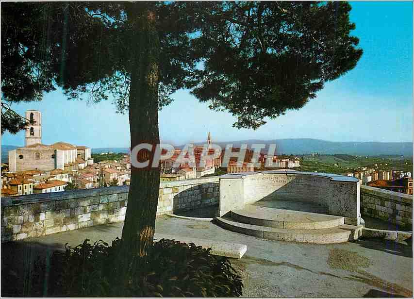 Moderne Karte Perugia Panorama de Belvedere 0