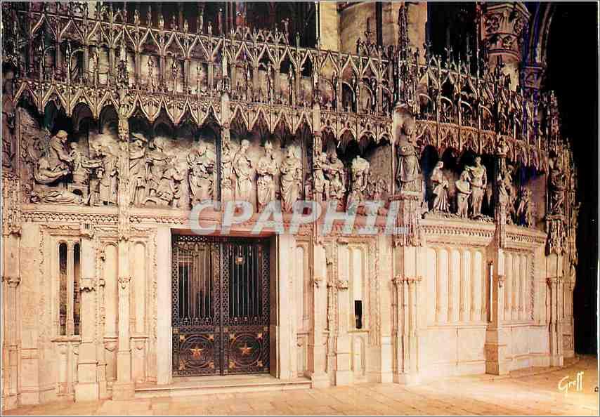 Moderne Karte En Beauce Chartres (Eure et Loir) Cloture du Choeur de la Cathedrale 0