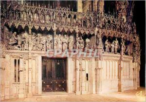 Moderne Karte En Beauce Chartres (Eure et Loir) Cloture du Choeur de la Cathedrale