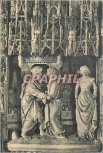 Moderne Karte Cathedrale de Chartres (E et L) Rencontre d'Anne et de Joachim