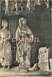Moderne Karte Cathedrale de Chartres (E et L) Anne recoit la visite de l'ange