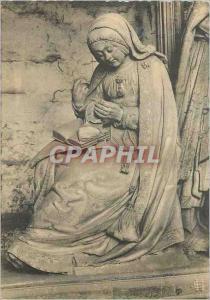 Moderne Karte Chartres (Eure et Loir) La cathedrale Cloture du ch�ur Vierge du songe de Saint Joseph