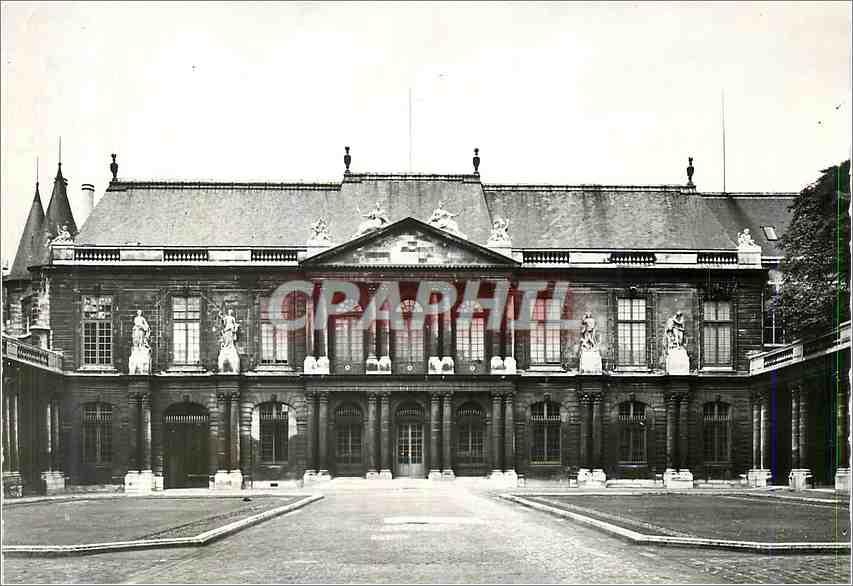 Moderne Karte Hotel Soubise (Archives Nationales) la Facade 0
