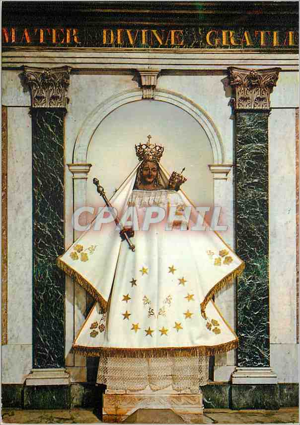 Moderne Karte Aix en Provence Eglise Sainte Marie Madeleine Autel et Statue de Notre Dame de Grace 0