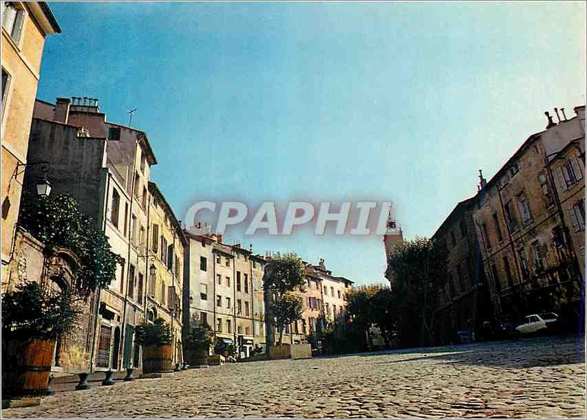 Moderne Karte Aix en Provence la Cite du Roy Rene la Vieille Ville 0