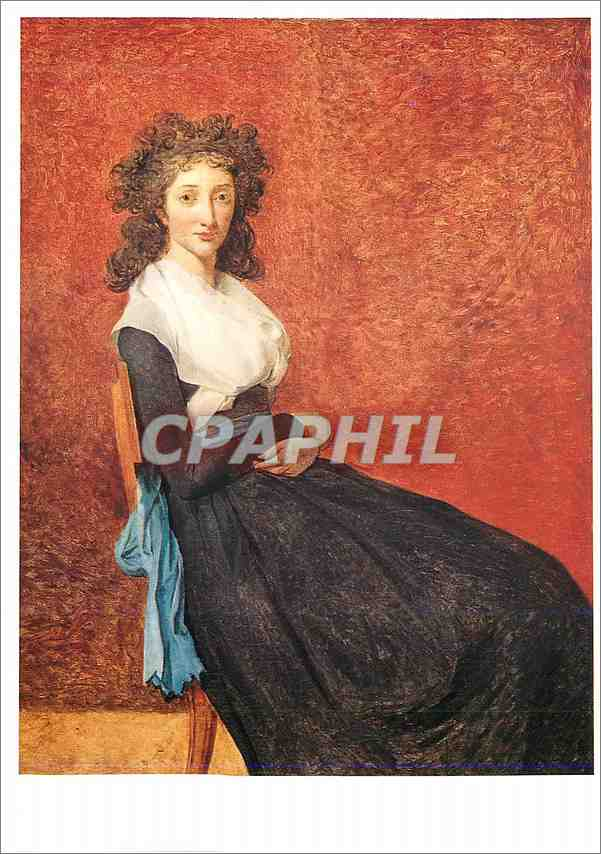 Moderne Karte Louvre Portrait de Louise Trudaine (1769 1802) Toile Louis David 1748 1825 0
