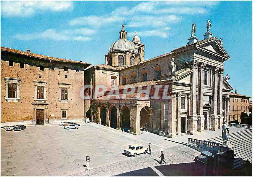 Moderne Karte Urbino  Cathedrale (XVIIIe S) 0