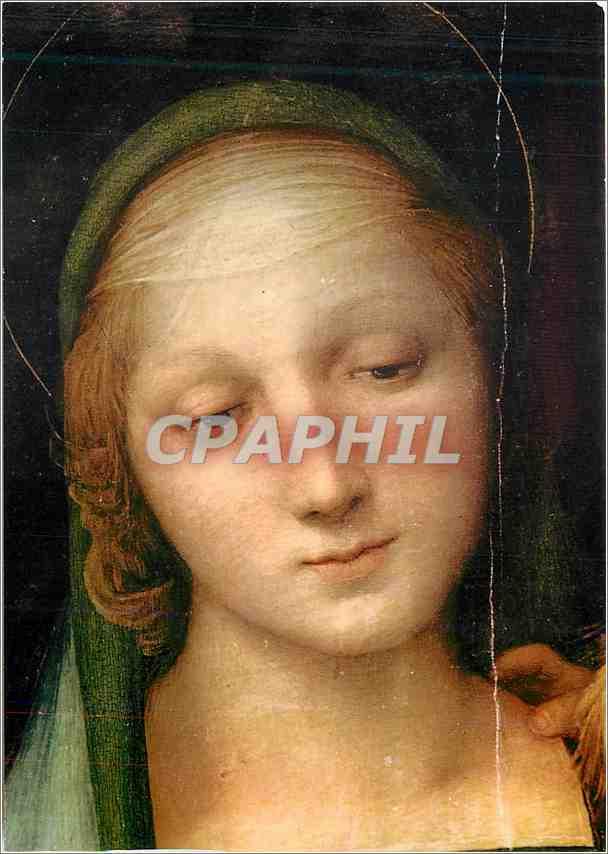 Moderne Karte Firenze Galleria Pitti Madone du Grand Duc (Detail) 0