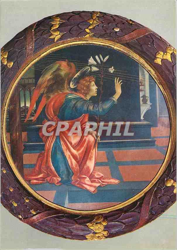 Moderne Karte S Gimignano L'Ange Gabriel (Filippino Lippi) 0