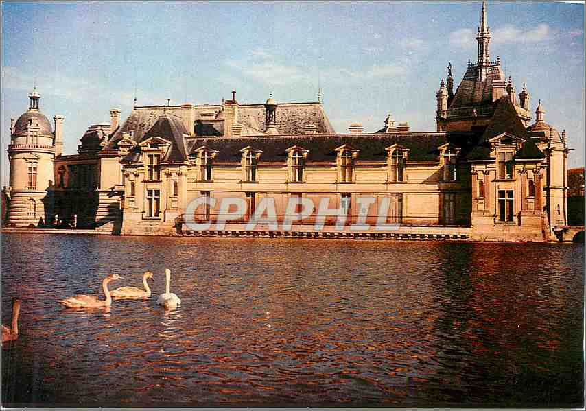 Moderne Karte Chantilly (Oise) Le Chateau 0