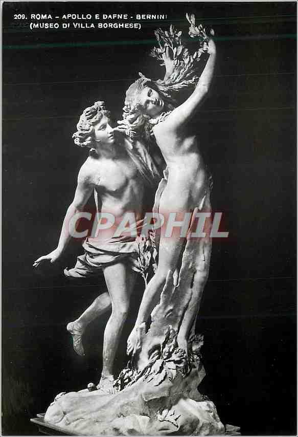 Moderne Karte Roma Apollo E Dafne Bernini (Museo di Villa Borghese) 0