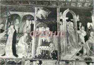 Moderne Karte Urbino Chiesa di S Giovanni Affreschi di Lorenzo e Iacopo Salimbeni