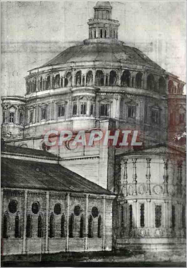 Moderne Karte Milano Casa di Raffaello Urbino Donato Bramante (1444 1514) 0
