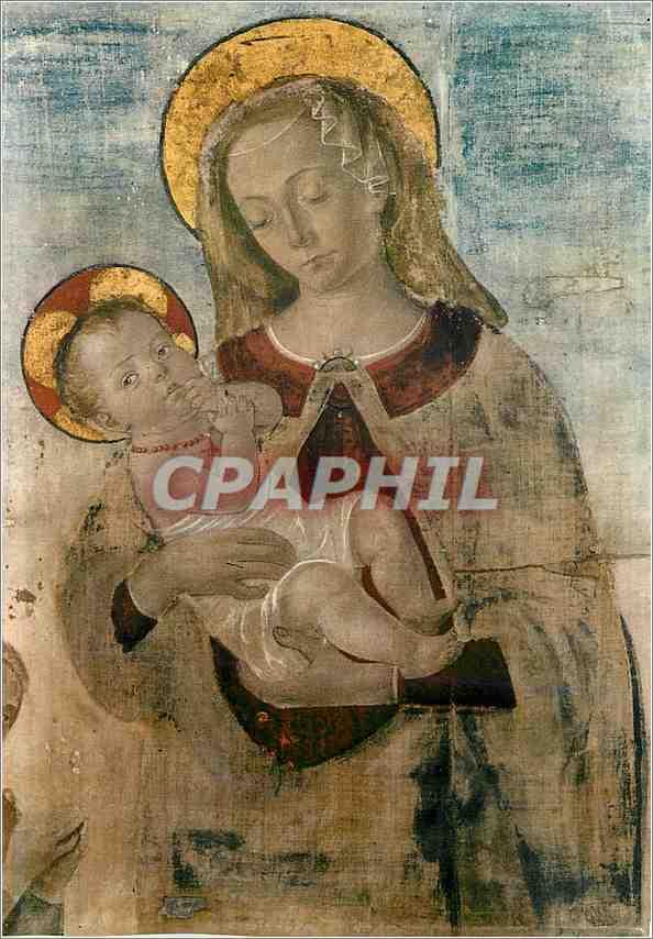 Moderne Karte Urbino Palazzo Ducale La Vierge avec l'Enfant 0