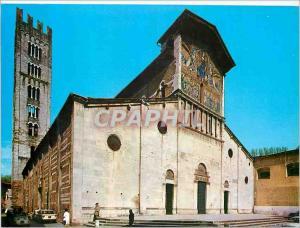 Moderne Karte Lucca L'Eglise de San Frediano
