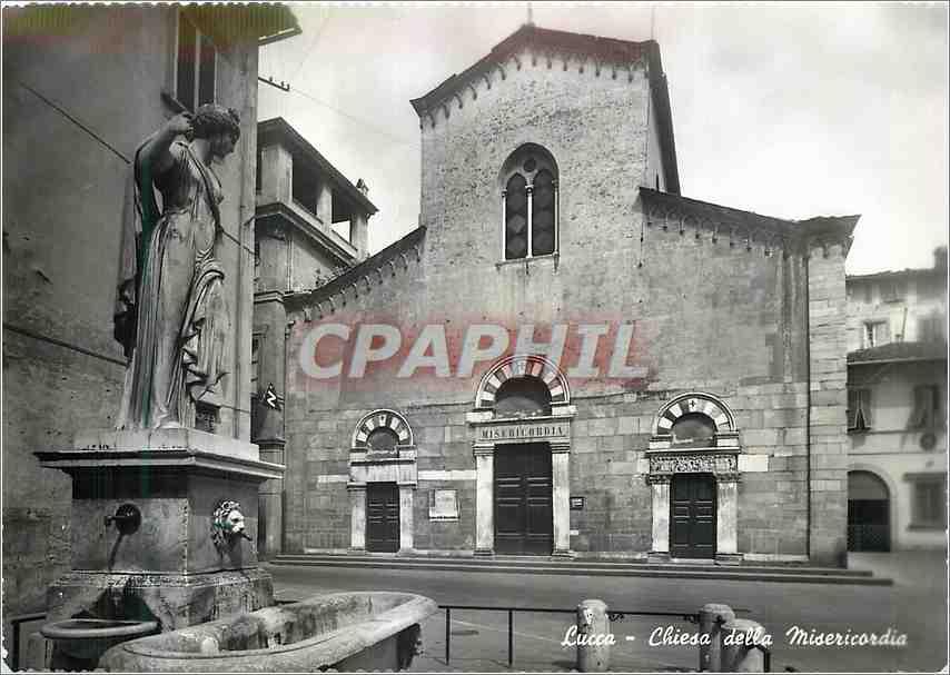 Moderne Karte Lucca Chiesa della Misericordia 0