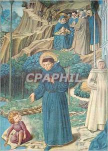 Moderne Karte S Gimignano Chiesa St Augustine discute avec l'Enfant Jesus sur le Mystere de la Trinite (B Gozz