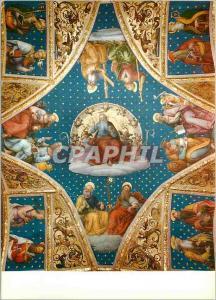 Moderne Karte Perugia Collegio del Cambio La Voute de la Chapelle de St Jean