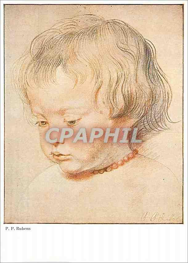 Moderne Karte Le Fils de l'Artiste (Wien) Walter Classen Kunstverlag Zurich Rubens Sein Sohn Niklas 0
