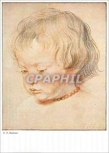 Moderne Karte Le Fils de l'Artiste (Wien) Walter Classen Kunstverlag Zurich Rubens Sein Sohn Niklas