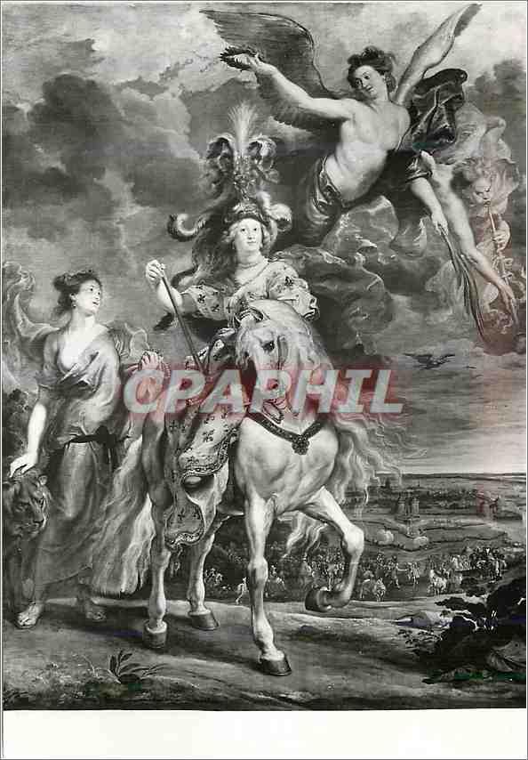 Moderne Karte Paris Musee du Louvre Peter Paul Rubens 1577 1640 Histoire de Marie de Medicis La prise de Julie 0