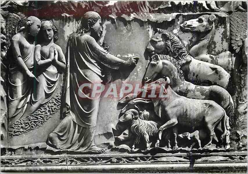 Moderne Karte Orvieto Duomo la creazione Deglt Animalt 0