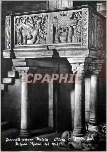 Moderne Karte Groppoli Presso Pistoia Chiesa di Michele Pulpito (Opera del 1194)