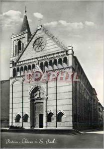 Moderne Karte Pistoia Chiesa di S Paolo