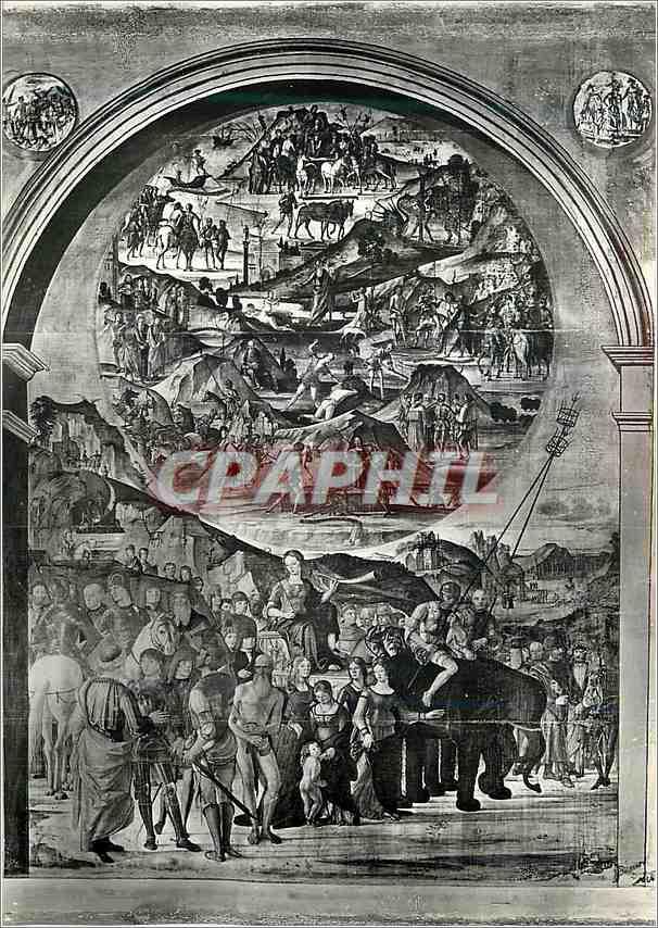 Moderne Karte Bologna Chapelle Bentivoglio 0