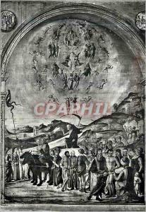 Moderne Karte Bologna Chapelle Bentivoglio la Triomphe de la Mort