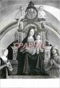 Moderne Karte Bologna Chiesa di S Giacomo Maggiore la Sainte Vierge sur le Trone