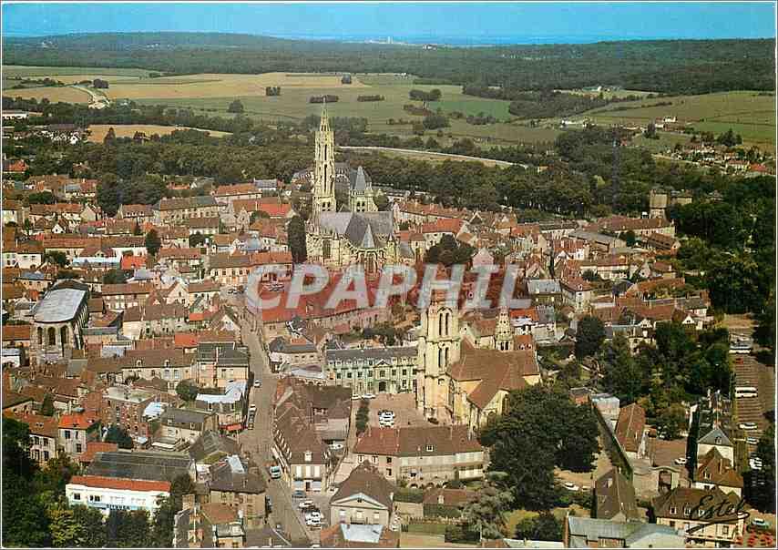 Moderne Karte Le Valois Senlis (Oise) 0