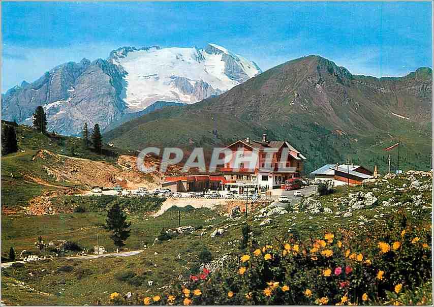 Moderne Karte Dolomiti Albergo Passo Falzarego 0