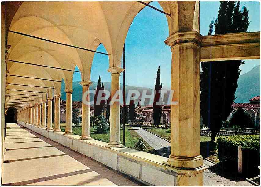 Moderne Karte Certosa Di Calci (Pisa) Raccourci du Grand Cloitre 0